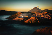 Mount Bromo Sunrise - 1 (Java, Indonesia)