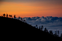 Sunrise Above the Clouds (Java, Indonesia)
