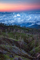 Morning Above the Clouds (Java, Indonesia)