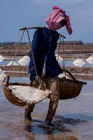 Woman Carrying Salt (Cambodia)
