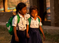 School Girls (Cambodia)