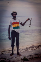 Fisherman with Catch (Jamaica)