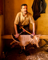 Animal Hide Scrapper (Morocco)