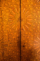 Wood Carved Door (Morocco)
