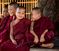 Young Monks at Play (Myanmar)