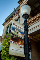 Prescott - Lamppost on Whiskey Row (Arizona)