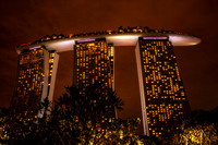 Marina Sands at Night (Singapore)