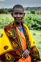 Maasai Woman in Yellow (Kenya)