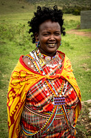 Maasai Woman Smiling (Kenya)