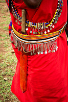 Maasai Garb with Knife (Kenya)