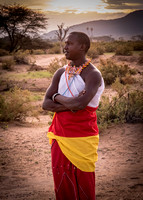 Man from Samburu Tribe (Kenya)